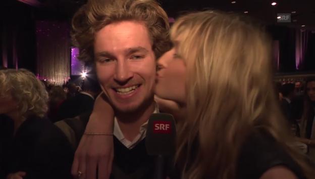 Video «Manuela Frey und Iouri Podladtchikov: Sind sie ein Paar?» abspielen