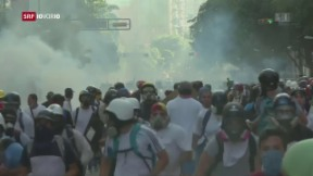 Video «FOKUS: Es brodelt in Venezuela» abspielen