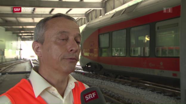 Video «Südostbahn überdenkt Sicherheitsvorkehrungen» abspielen