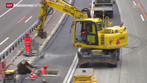 Video «Gewerkschaften und Baumeisterverband streiten über Frühpensionierung» abspielen