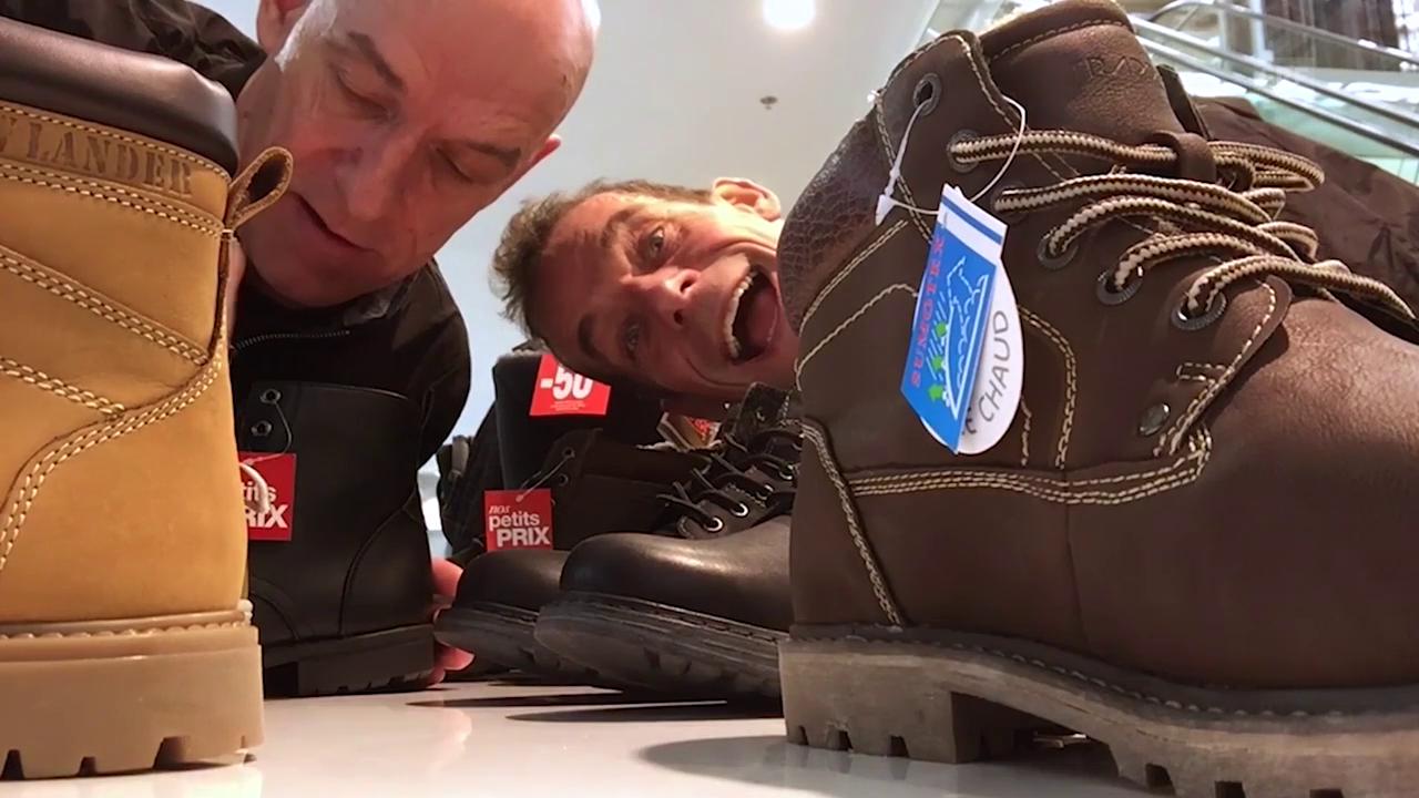 Das Geheimnis des Schuhkaufes