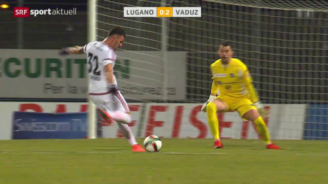 Vaduz gelingt ein Befreiungsschlag in Lugano
