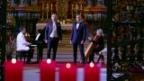 Video «Swiss Tenors - «Oh Holy Night»» abspielen