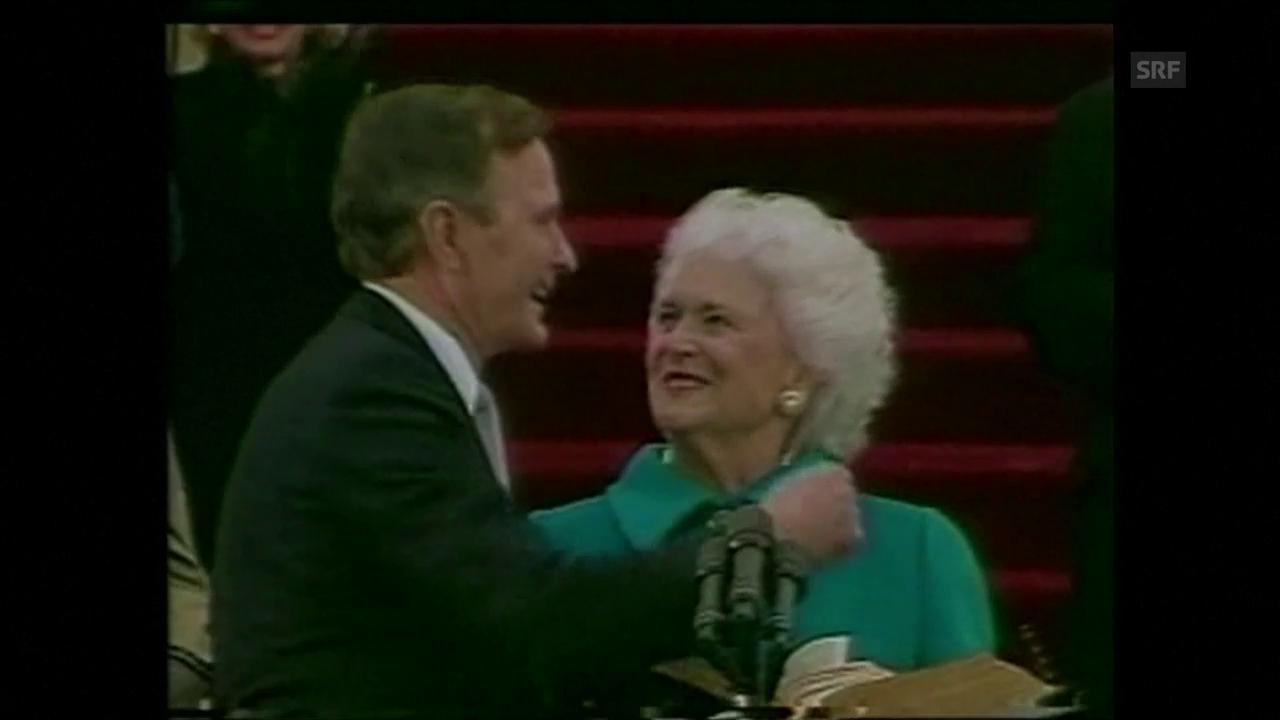 Die einstige First Lady Barbara Bush ist tot