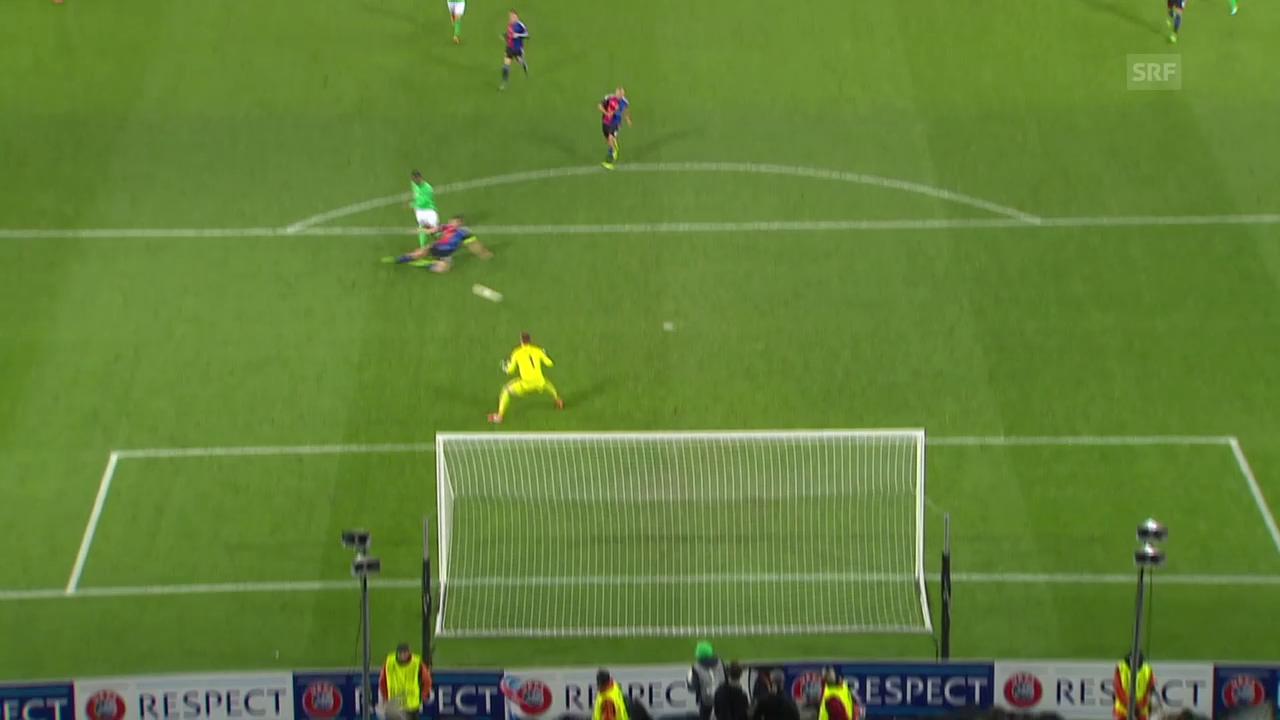 Die Live-Highlights aus dem EL-Sechzehntelfinal-Hinspiel zwischen St. Etienne und Basel