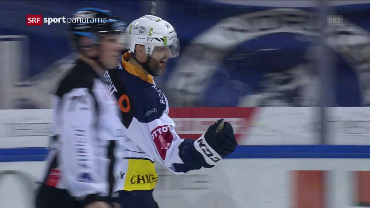 Zug schlägt Davos im Penaltyschiessen mit 2:1