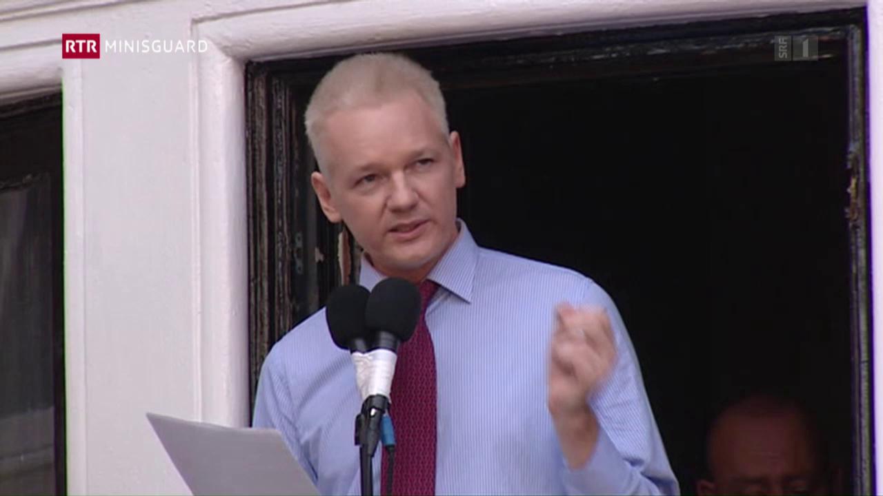 Julian Assange – dapi onns bloccà amez Londra