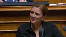 Video «Doris Fiala zum bürgerlichen «Fröntchen» mit der SVP» abspielen