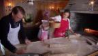 Video «Prinzessin Estelle schickt Weihnachtsgrüsse aus der Backstube» abspielen