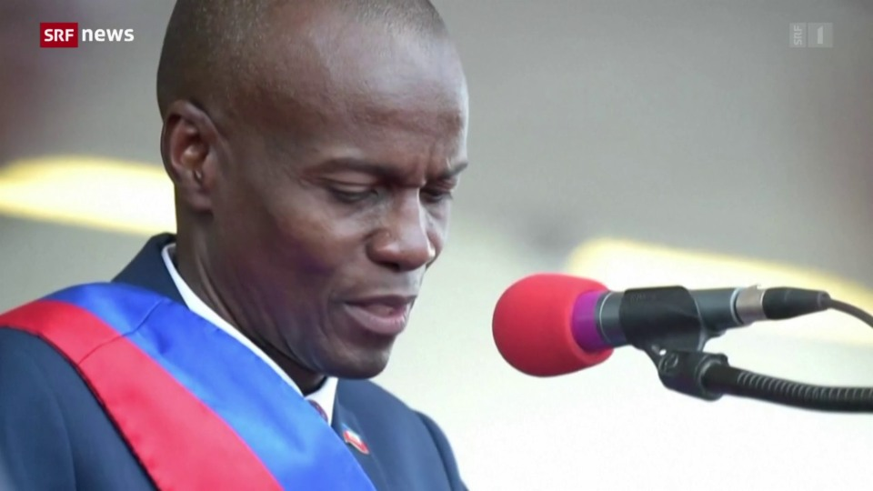 Aus dem Archiv: Haitis Präsident ermordet