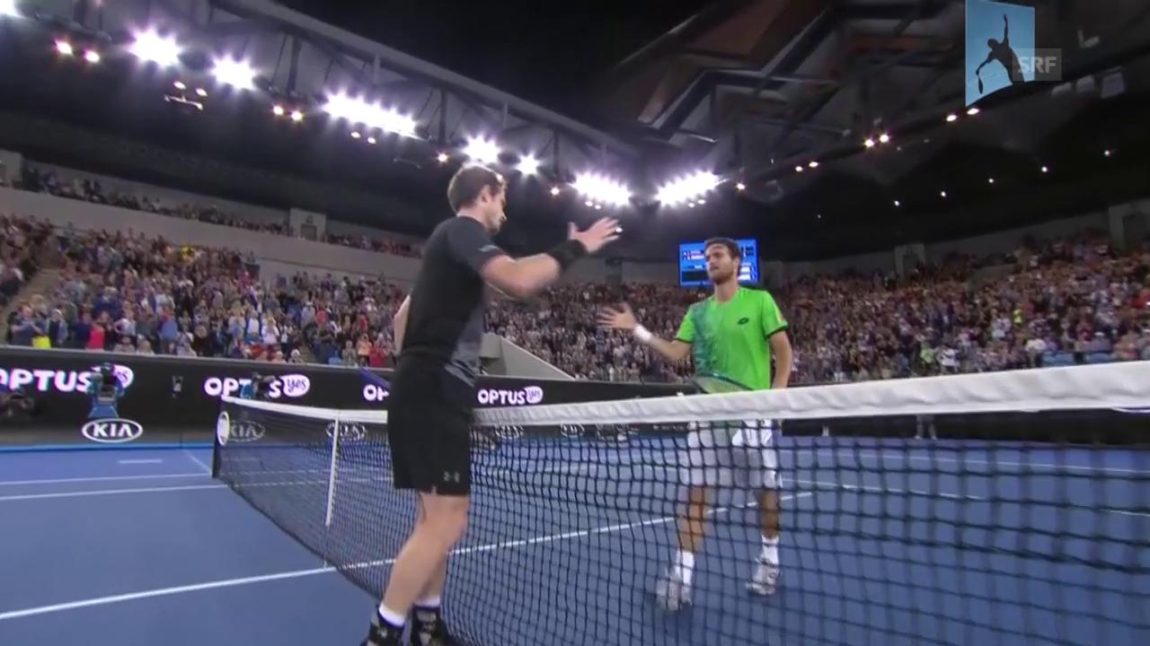 Der Matchball von Andy Murray