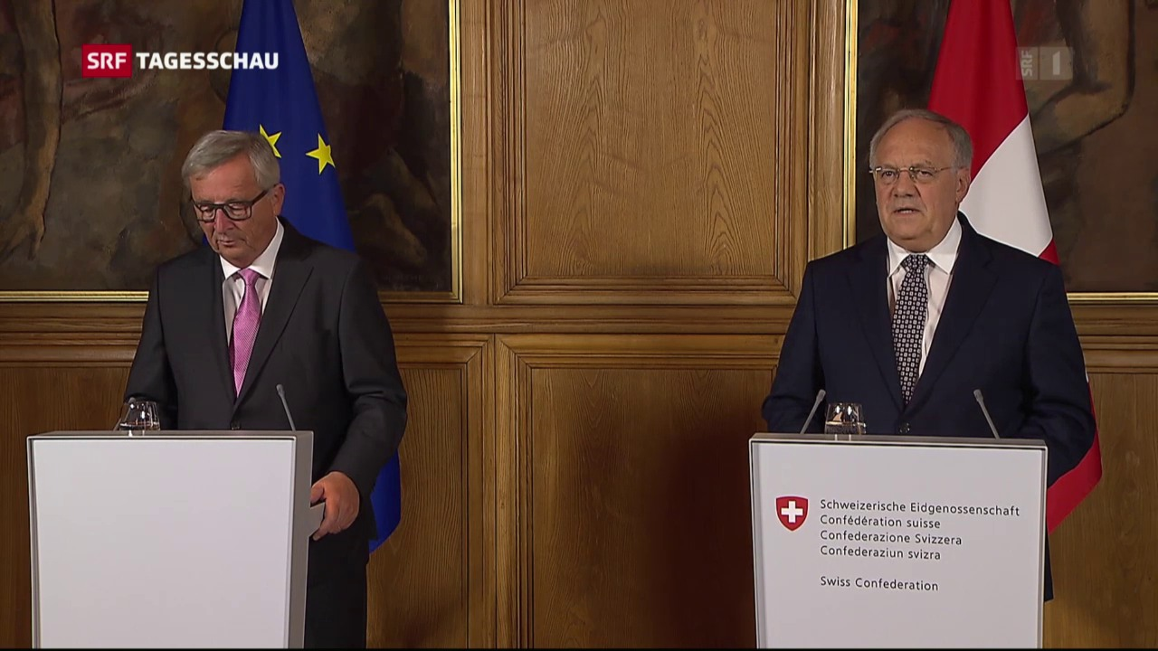 Kein Resultat bei Schneider-Ammann und Juncker