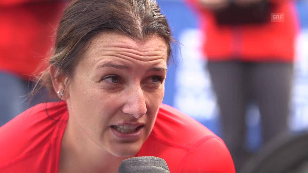 Manuela Schär: «Verhältnisse waren optimal»