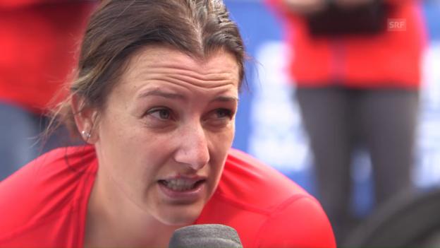 Video «Manuela Schär: «Verhältnisse waren optimal»» abspielen