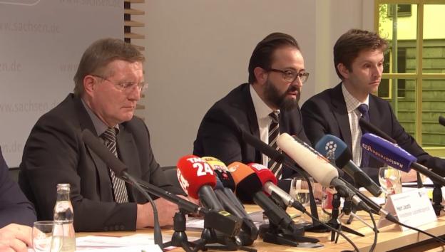 Video «Justizminister Gemkow: «Das hätte nicht passieren dürfen»» abspielen
