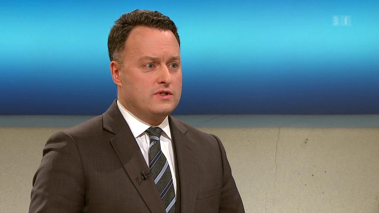 SVP-Nationalrat Sebastian Frehner nimmt Stellung