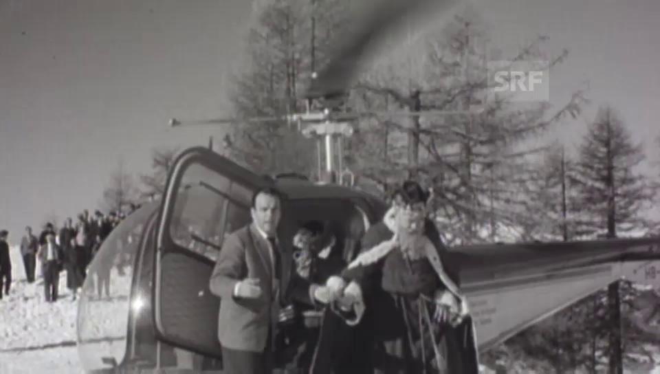 1960: Die Könige landen in Chandolin (VS)