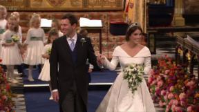 Video «Die royale Hochzeit von Prinzessin Eugenie» abspielen