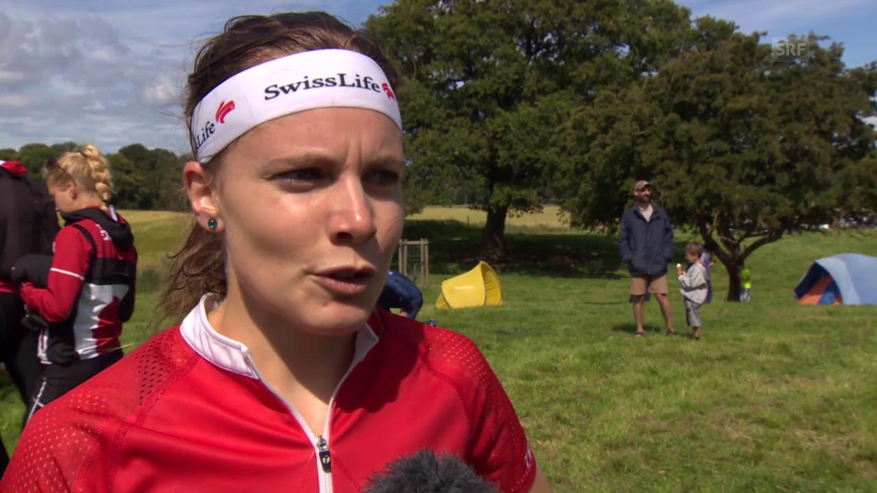OL-WM: Interview mit Sarah Lüscher