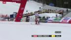 Video «Marcel Hirscher führt nach 1. Lauf» abspielen