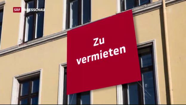 Video «Ständerat gegen Transparenz bei Mietzins» abspielen