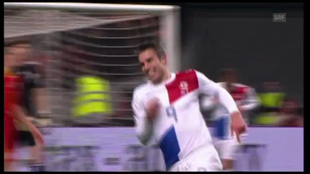 Video «WM-Qualifikation: Niederlande - Rumänien» abspielen