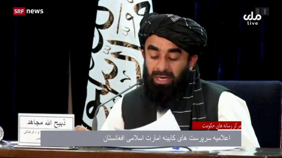 Taliban verkünden neue Regierung