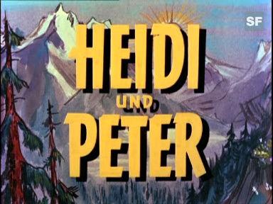 «Heidi und Peter», 1955 (Filmausschnitt)