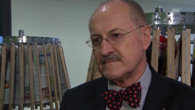 Video «Interview mit Ex-Direktor Hans Zogg» abspielen