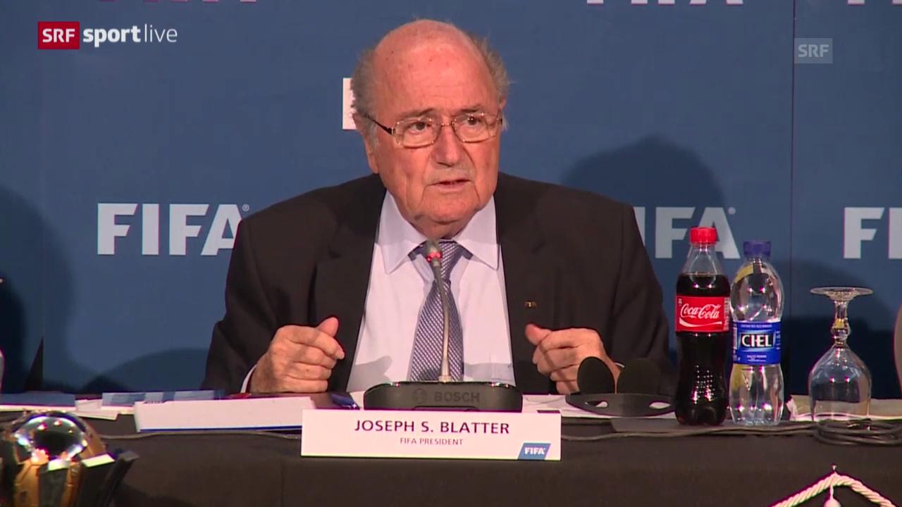Fussball: FIFA will Bericht veröffentlichen