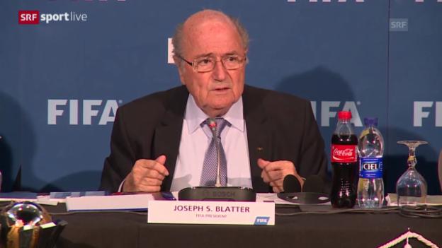 Video «Fussball: FIFA will Bericht veröffentlichen» abspielen