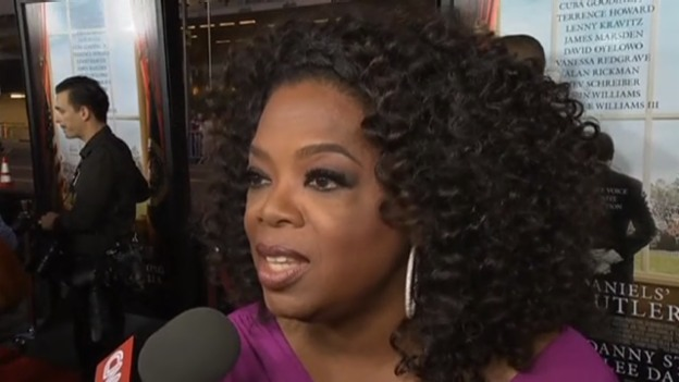 Video «Oprah Winfrey nimmt zum «Täschligate» Stellung» abspielen