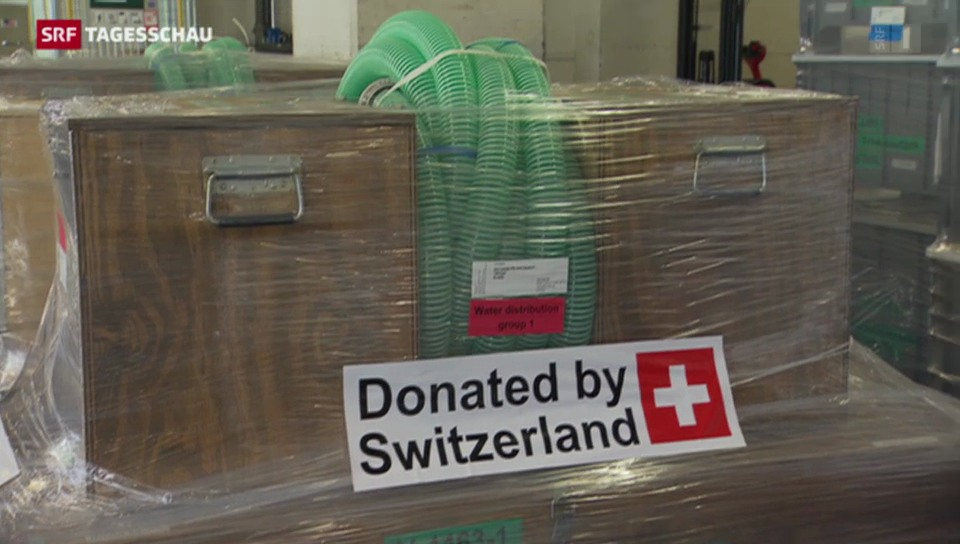 Schweizer Hilfe für Südosteuropa