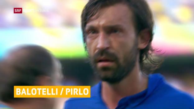 Video «Namhafte Abwesende in der «Squadra azzurra»» abspielen