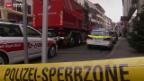 Video «Giftige Dämpfe in Warenlager» abspielen