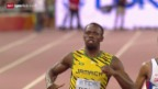Video «Leichtathletik: Das Duell Bolt vs. Gatlin über die 200 m» abspielen