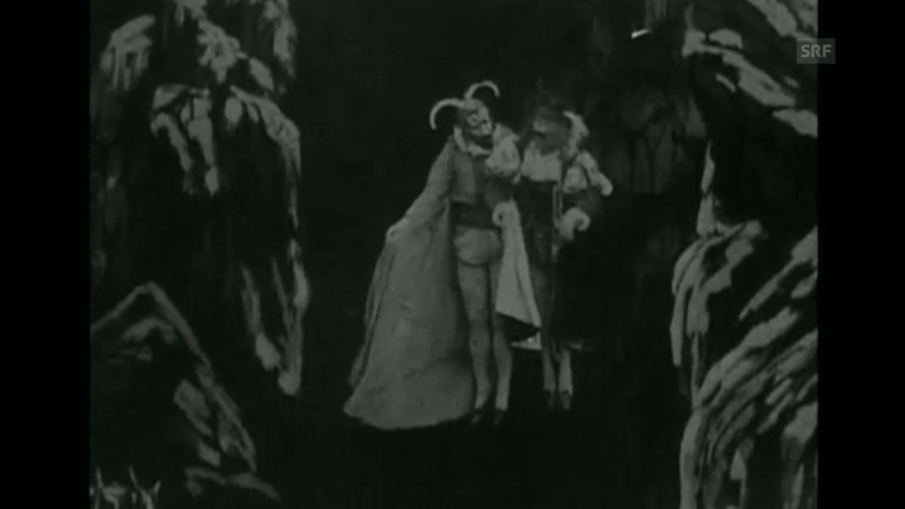 1. «Faust aux enfers» von Georges Méliès (FR, 1903)