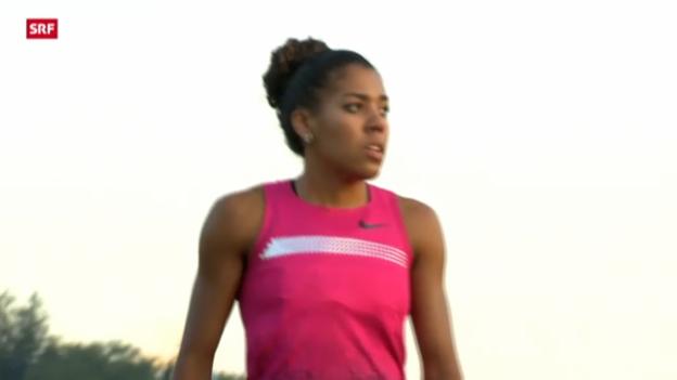 Video «Leichtathletik: Schweizer Meisterschaften in Luzern» abspielen