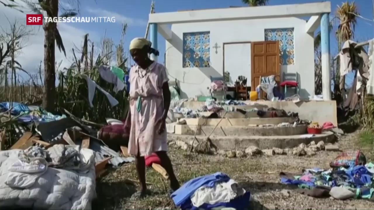 Tod und Verwüstung in Haiti