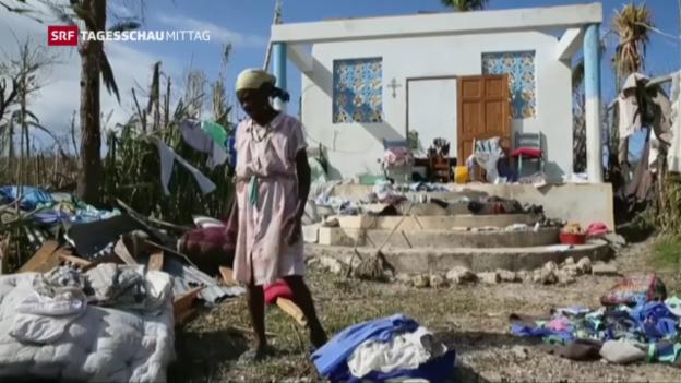 Video «Tod und Verwüstung in Haiti» abspielen