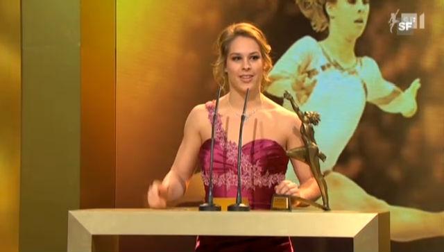 «Sports Awards»: Newcomer des Jahres Giulia Steingruber