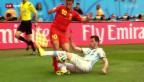 Video «WM 2014: Rückblick Argentinien-Belgien» abspielen