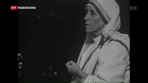 Video «Das Werk Mutter Teresas» abspielen