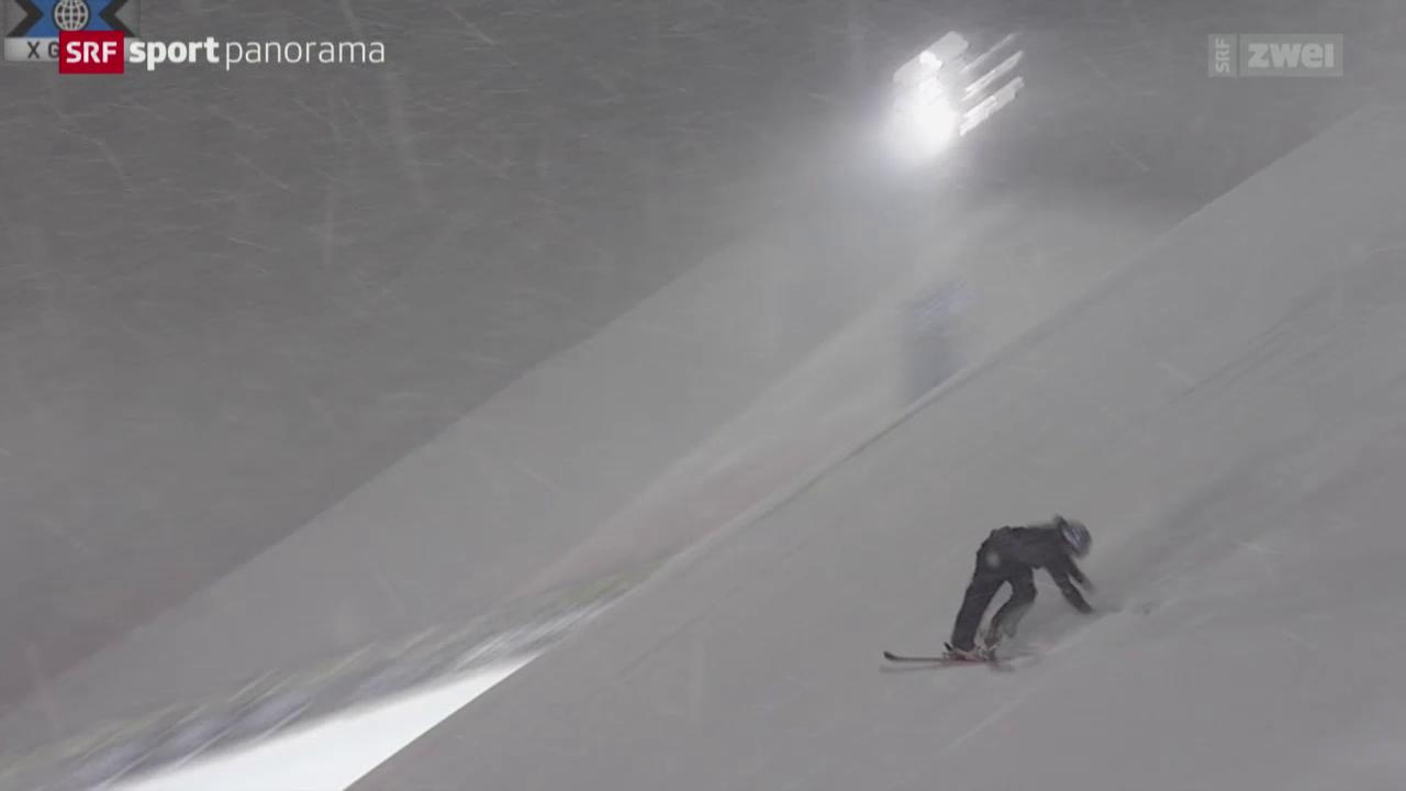 Ski-Freestyle: Sturz von Ambühl