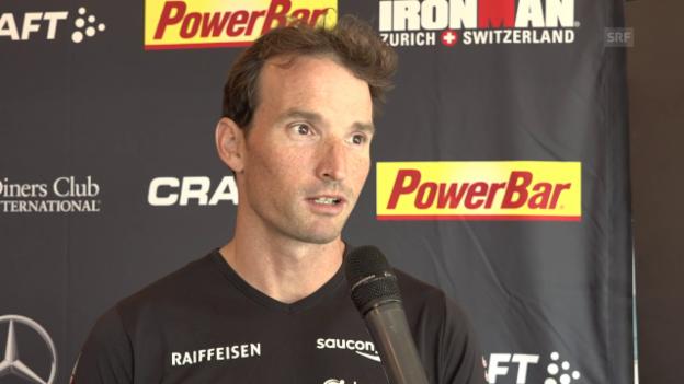 Video «Schildknecht: «Es kann so vieles passieren beim Ironman»» abspielen