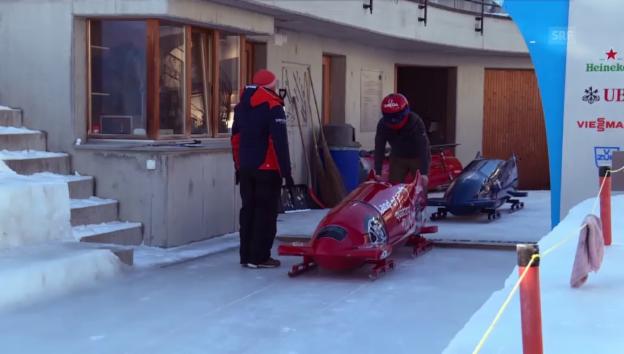 Video «Claudio Zuccolini im Eiskanal» abspielen