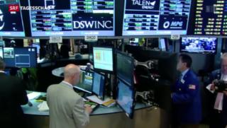 Video «Europäische Börsen erholen sich» abspielen