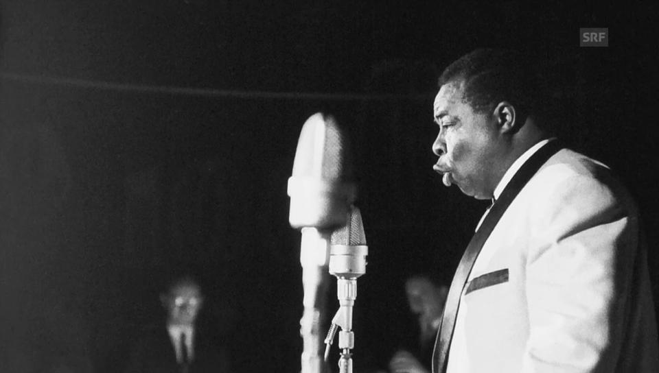1961: Moses La Marr im Radiostudio Zürich