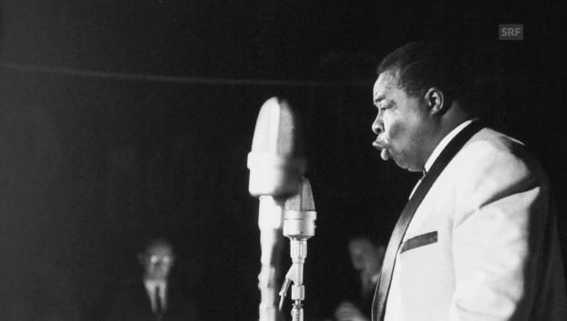 Video «1961: Moses La Marr im Radiostudio Zürich» abspielen