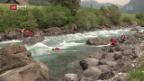 Video «Rettungsübung vor Kanu-WM» abspielen